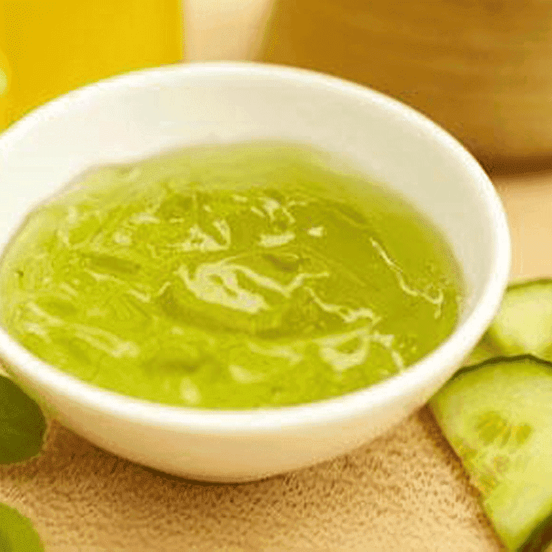 Organic Cucumber Facial Mask